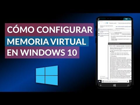 Cómo Configurar o Aumentar la MEMORIA VIRTUAL en Windows 10 al máximo