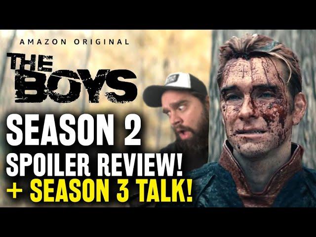 The Boys Season 2 Spoiler Review, Recap & Season 3 Details - Streaming on Amazon Prime