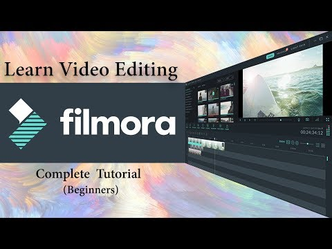 Filmora video editing tutorial for beginners | full course | Hindi