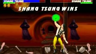 Mortal Kombat Trilogy - Saturn - Shang Tsung - Brutality
