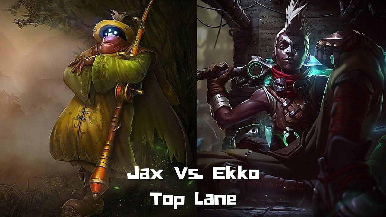 Top Lane Jax Vs Tank Ekko Patch 66 League Of Legends Youtube