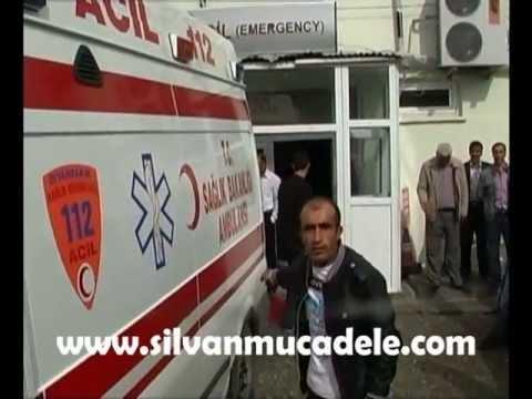 Silvan'da Polis Bir Genci Yaraladı