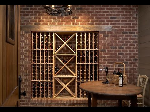 Botelleros botelleros de madera para el vino botelleros de pared youtube - Botelleros de madera para vino ...