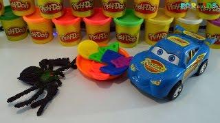 Play Doh Playful Cookies   How To Make Rainbow Desserts   Playdough Videos   DIY Desserts