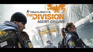 Tom Clancy's The Division Agent Origins {Full Length}