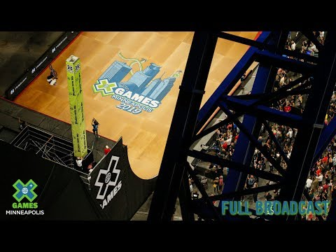 The Real Cost BMX Big Air: FULL BROADCAST | X Games Minneapolis 2019
