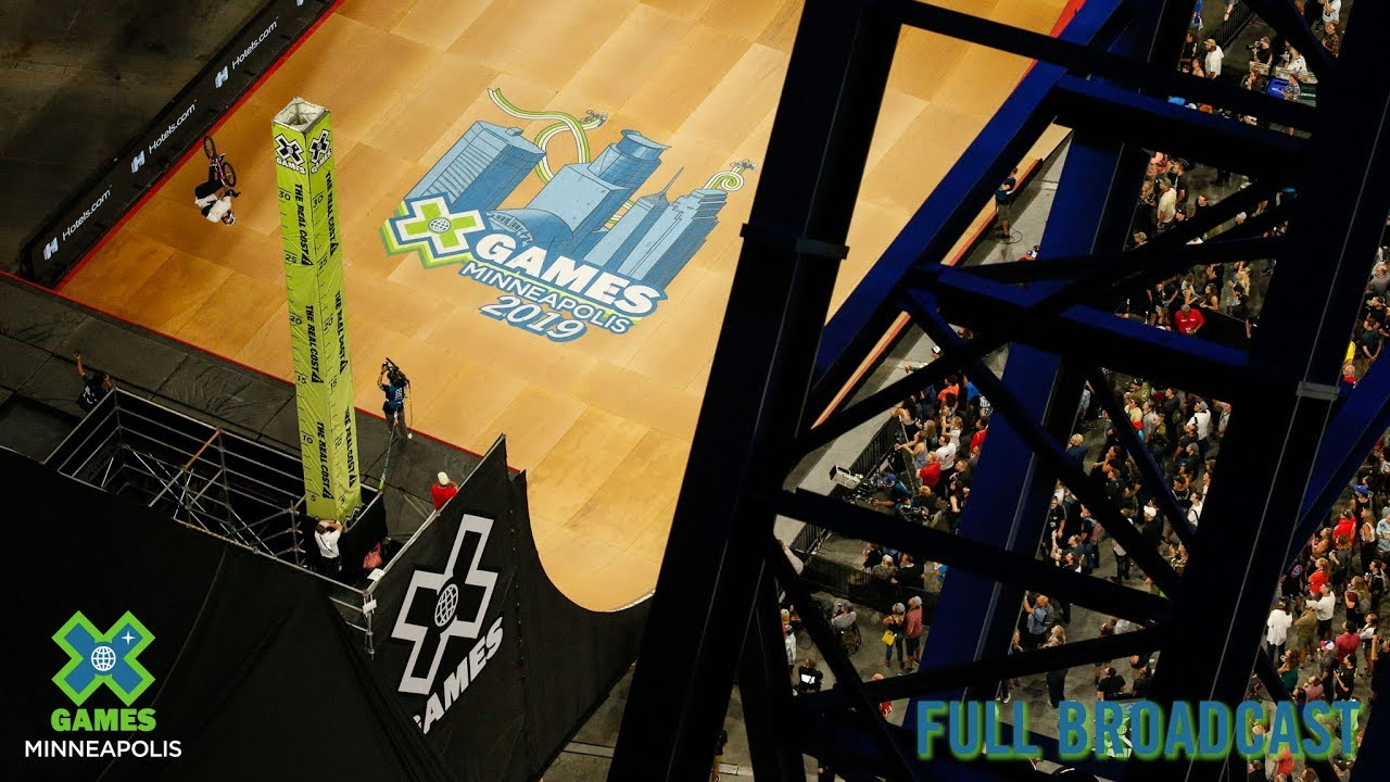 X Games Minneapolis 2018 In Person Schedule