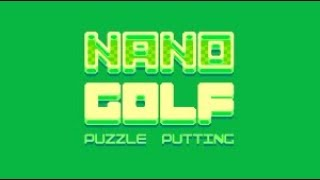 Nano Golf (Android Game) By Nitrome