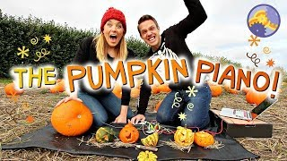 How to make a Pumpkin Piano! (using a Makey Makey!) | Maddie Moate