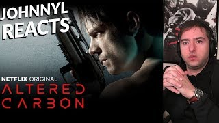 ALTERED CARBON - Official Trailer Reaction