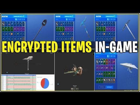 *NEW* ALL ENCRYPTED COSMETICS/SKINS IN-GAME LOCKER! (Cthulhu, Ninja, & More!)