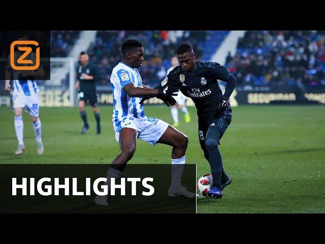 Leganés vs Real Madrid | Copa del Rey 2018/19 | Samenvatting