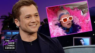 Taron Egerton Conquered Carpool Karaoke: The Series