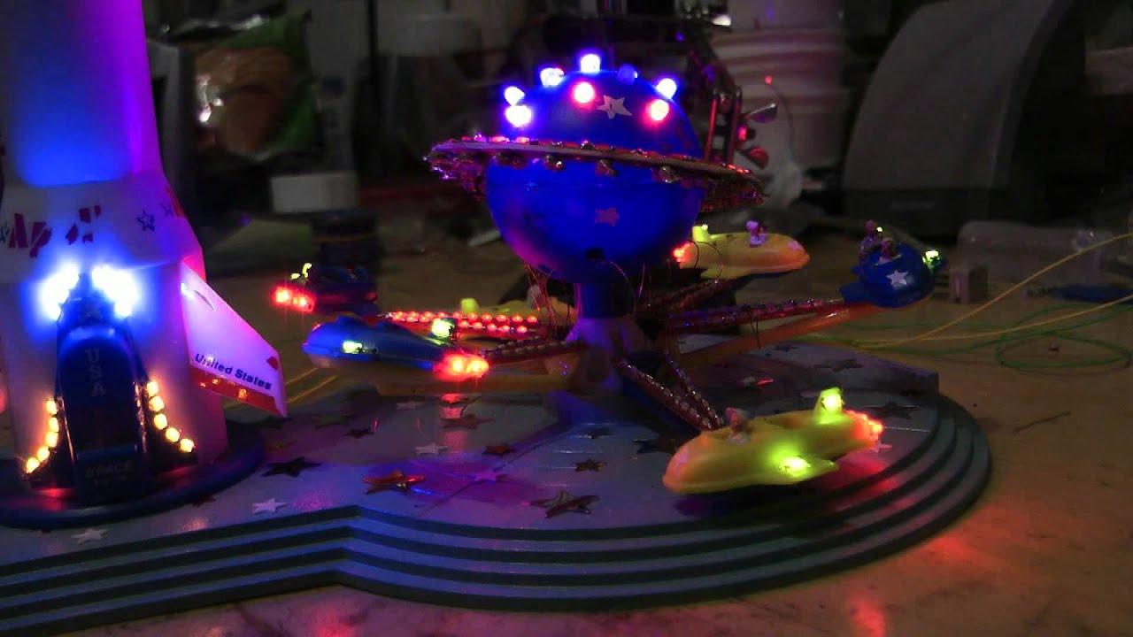 Faller Kirmes Beleuchtung | Faller Kirmes Beleuchtung Faller 450 Exclusiv Modell Achterbahn