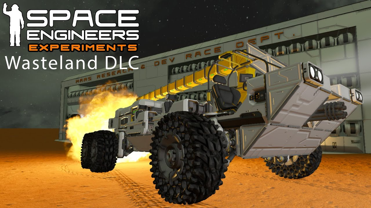 Space Engineers Experiments: Wasteland DLC First Look