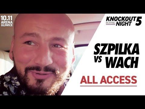 Szpilka ALL ACCESS! Vlog przed walką SZPILKA vs WACH