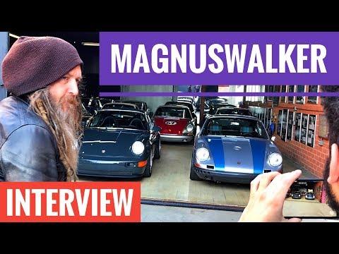 MAGNUS WALKER - the best interview?!) ENG & RUS! PORSCHE 911 / URBAN OUTLAW / Человек и Движение