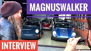 MAGNUS WALKER - the best interview?!) ENG & RUS! PORSCHE 911 / URBAN OUTLAW / Человек и Движение
