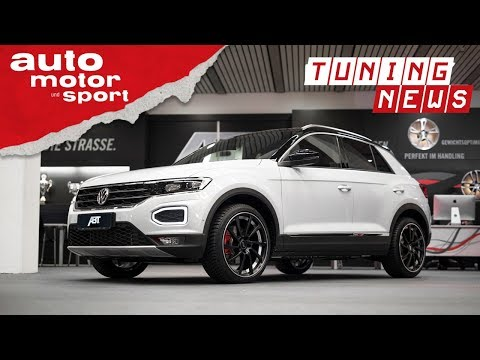Abt VW T-Roc: SUV tiefergelegt  - TUNING-NEWS | auto motor und sport