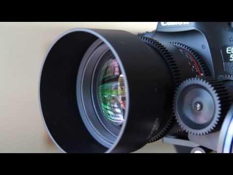 Rokinon 85mm t/1.5 Cine Lens Review