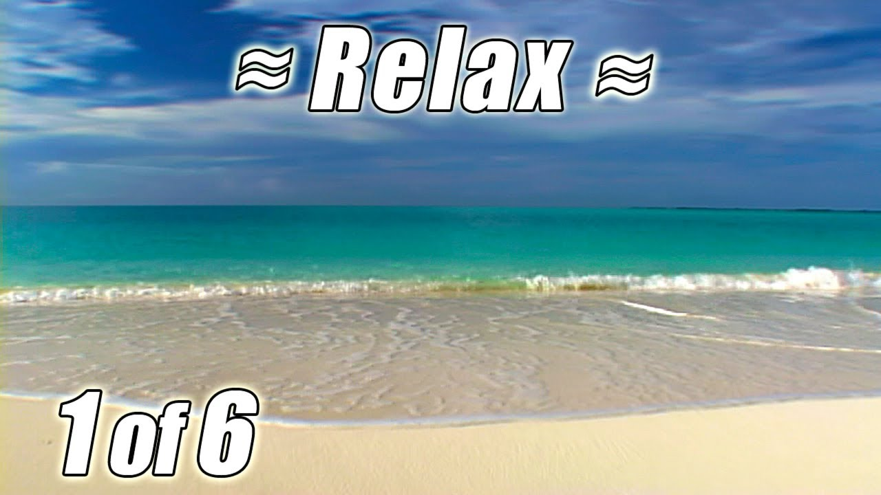 Tropical Island Beach Ambience Sound: #1 RELAXING Ocean Sounds #1 CARIBBEAN BEACHES DVD Most