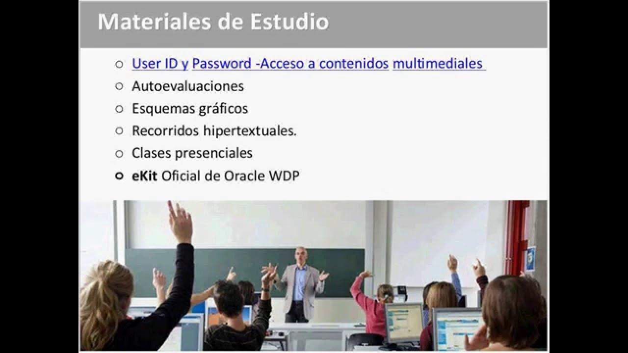Clase abierta de DBA Oracle