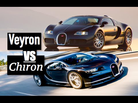 Bugatti Chiron Vs Bugatti Veyron   Inside Lane   YouTube