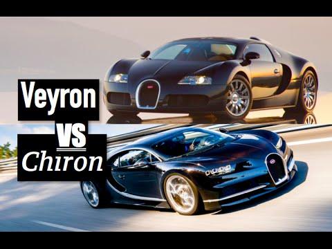 Ccx Car Wallpaper Bugatti Chiron Vs Bugatti Veyron Inside Lane Youtube