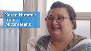 Karen Nutarak from Mittimatalik