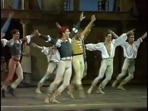 Neumeier's Romeo and Juliet - Royal Danish Ballet 1987