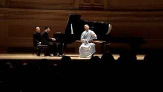 Guo Gan  and  Lang Lang 郎朗.果敢 in  Carnegie  Hall  New York二胡 2009 赛马Horse Racing