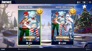 *NEW* SEASON 7 BATTLE PASS BUNDLE! FORTNITE SEASON 7 SKINS LEAKED! (FORTNITE SEASON 7 TIER 100 SKIN)