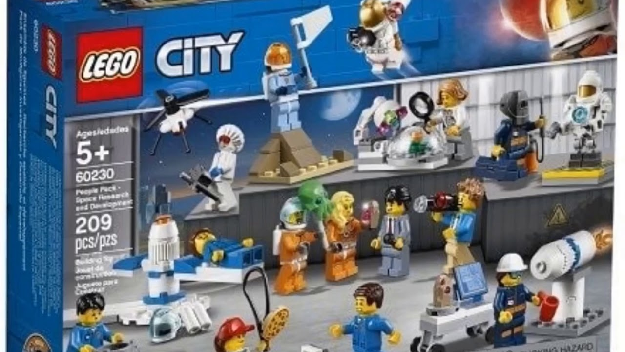 Lego City Summer 2019 Space Set Revealed Youtube