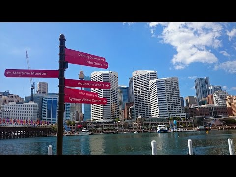 Sydney Darling Harbour Australia HD