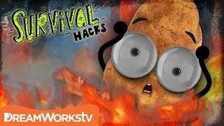 How To STOP a Forest Fire!! | SURVIVAL HACKS