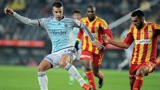 Fenerbahçe Kayserispor Maçı 1-0 Robin van Persie'den Harika Çalımlar Ziraat Türkiye Kupası
