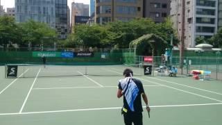 All Japan Junior Tennis Championships 2016 Yosuke Watanuki(ITF No.2) vs Yunosuke Tanaka(IT