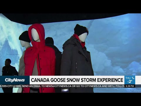 Canada Goose Opens A Store That Has Snow But No Jackets