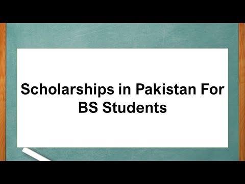 scholarships-in-pakistan-for-bs-students