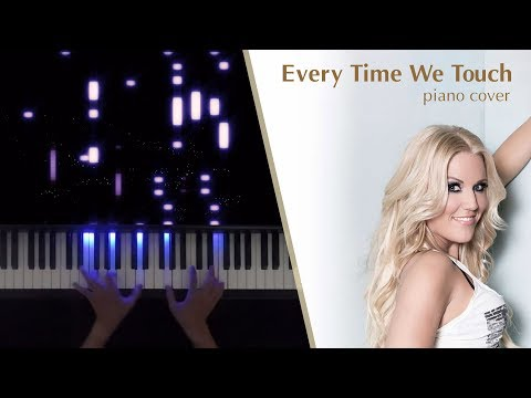 Everytime we Touch - Cascada - Piano cover tutorial
