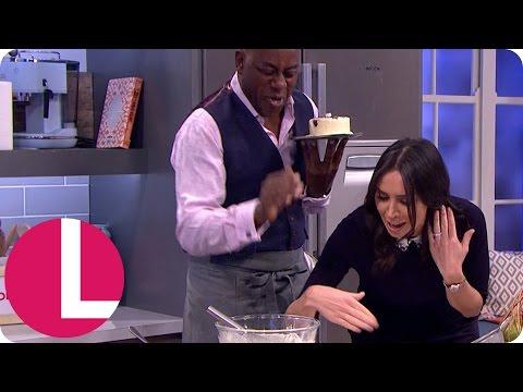 Ainsley Starts a Fire in the Kitchen!   Lorraine