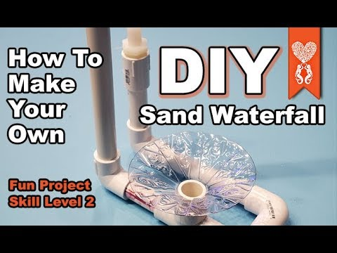 How To Build A Underwater Sand Waterfall For Your Tank DIY Project