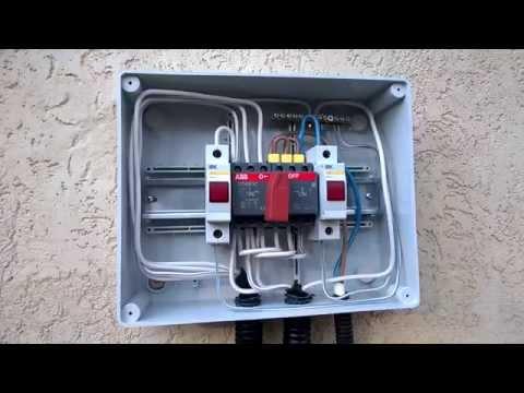 видео: Как подключить #генератор к дому, даче