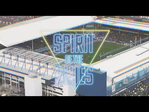 SPIRIT OF THE BLUES 'OFFICIAL' MUSIC VIDEO! 😂 | EVERTON FANS SEND 80S ANTHEM INTO THE CHARTS