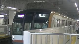 東京メトロ10108F F快急所沢止まり 入換え 西武線所沢
