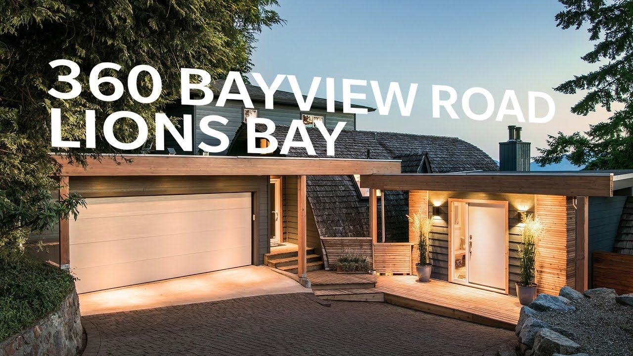 Stunning West Coast Contemporary Lifestyle in Lions Bay - 360 ...