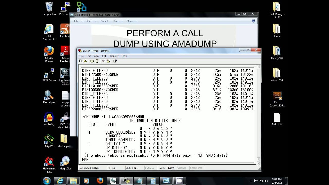 How To Perform A Call Dump In The Nortel Dms 100 Using Amadump Youtube
