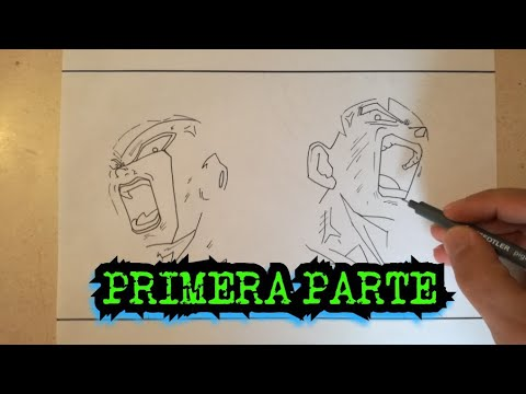 Como Dibujar A Goku Y Freezer Vs Jiren Dragon Ball Super