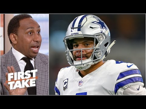 Cowboys 'lucked up' winning the NFC East - Stephen A. | First Take