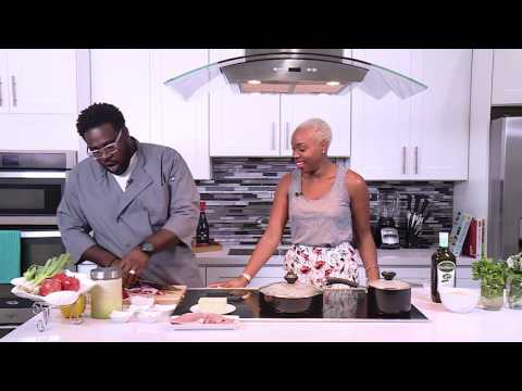 Chef it Up - Stuffed Pork Chops w/ Vegetable Spiced Rice - Chef Horatio Smith